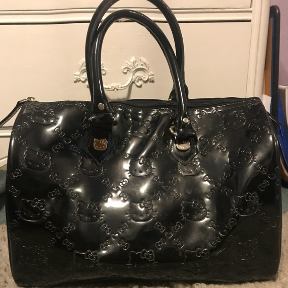 a502c4604 Hello Kitty Bags | Black Purse | Poshmark